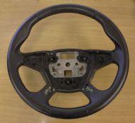 FORD FOCUS MK4 4 SPOKE LEATHER STEERING WHEEL BM51-13600-AD3ZHE 2012-2015